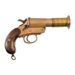 British Webley & Scott No. 1 Mk. III Flare Pistol