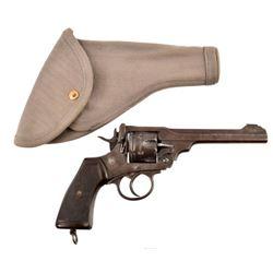 British Webley Mk VI Double-Action Revolver