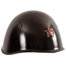 WWII Black Russian Helmet