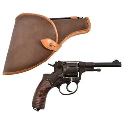 Russian Nagant M1895 7.62 mm Revolver