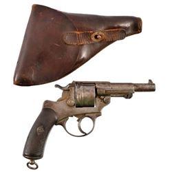 French St. Etienne Model 1874 DA Revolver