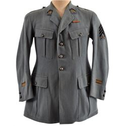 WWI French Uniform for Heavy Machine Gun 1st Lt.