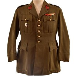 WWI French Army Lt. Colonel Artillery Tunic