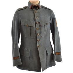 WWI French Army Horizon Blue Grenadier Tunic