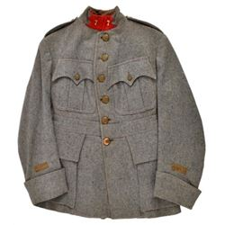 WWI French Blue Wool Tunic