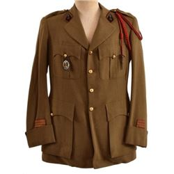 WWII French Navy Green Tunic