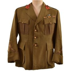 WWII French Army Green Tunic