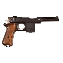 Danish Bergmann-Bayard 1910/21 Pistol