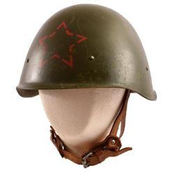 WWII Soviet Helmet