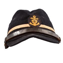 WWII Imperial Japanese Navy Officer's Service Cap