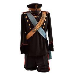 Pre-WWI Italian Officer's Blue Dress Uniform