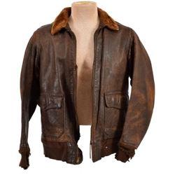 WWII U.S. Navy, G-1 Leather Flying Jacket