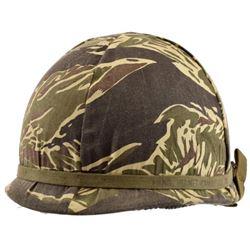 Vietnam War Camouflage U.S. Helmet