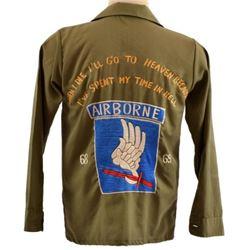 Vietnam U.S. Airborne Embroidered Shirt