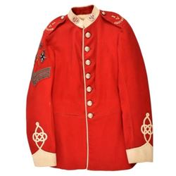 British Leicester 1st Volunteers Battalion Tunic