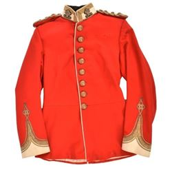 British Prince of Wales Volunteers Officer's Tunic