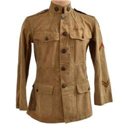 WWI U.S. Army Uniform Earl P. King 359th Infantry