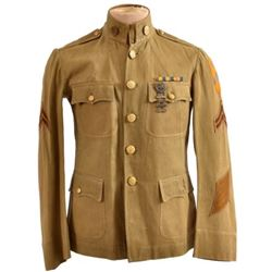 WWI U.S. Army 10th Cavalry Tunic