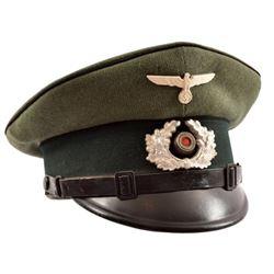 WWII Nazi German Visor Cover