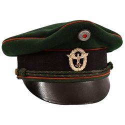 WWII Nazi German Police Visor Cap
