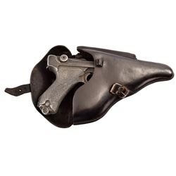 Nazi Marked Luger Holster & Dummy Luger