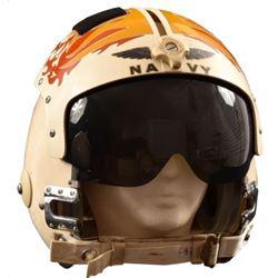 Vietnam War Era U.S. Navy Jet Helmet w/ Visor