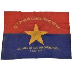 Vietnam War Viet Cong 306 Division Flag