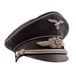 WWII Nazi German Officers Visor Cover