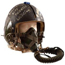 Vietnam War U.S. F-4 Jet Pilot Flight Helmet