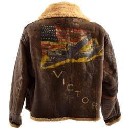 WW2 U.S.A.F. Type D1 Painted Flight Jacket