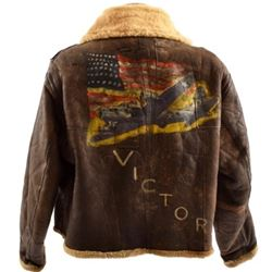 WW2 U.S.A.F. Type D1 Painted Flight Jacket