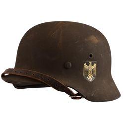 WWII Nazi German M1940 Helmet Single Decal