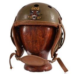 WWII Lt. Clint Hearn 602nd Tank Destroyer Helmet