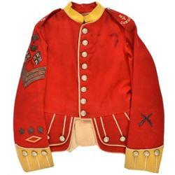 Early British Army Sergeants 2V Cordon Tunic