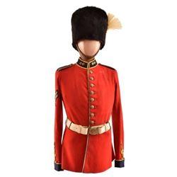 British Royal Scots Greys Fusilier Uniform