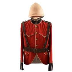 British King's Own Scottish Borderers Uniform