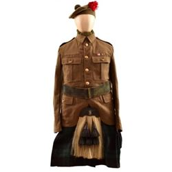 Canadian Royal Highlander Uniform