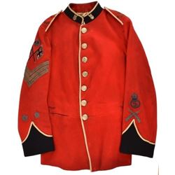 British Army W. Kent 4th Volunteers Tunic