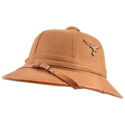 WWII Nazi German Luftwaffe Afrika Pith Helmet