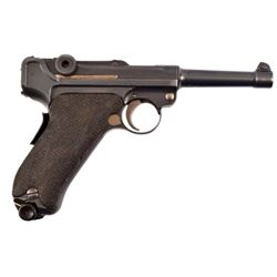 British Vickers Made 1906 Dutch Contract Luger 9MM