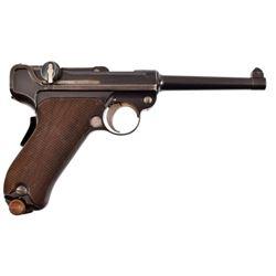 DWM 1900 American Eagle Test Luger