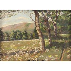 Michele Cascella Italian Impressionist Oil Board
