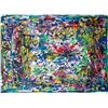 Image 1 : Jackson Pollock American Abstract Oil on Canvas