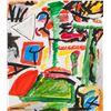 Image 1 : Pierre Gauvreau Canadian Modernist Oil Canvas 2001