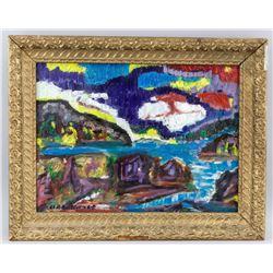Justin Obradovic Canadian Oil on Canvas