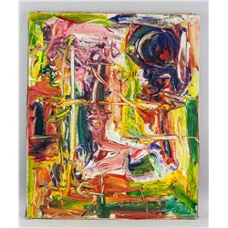 Willem de Kooning Dutch American Abstract OOC