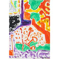 Patrick Heron British Abstract Oil on Canvas