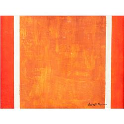 Barnett Newman American Color Field Oil on Canvas