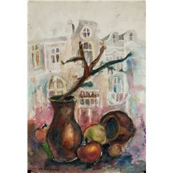 Charles Camoin French Fauvist Mixed Media Paper