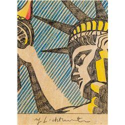 Roy Lichtenstein US Pop Mixed Media on Paper